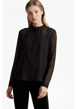 Polly Plains Collarless Shirt