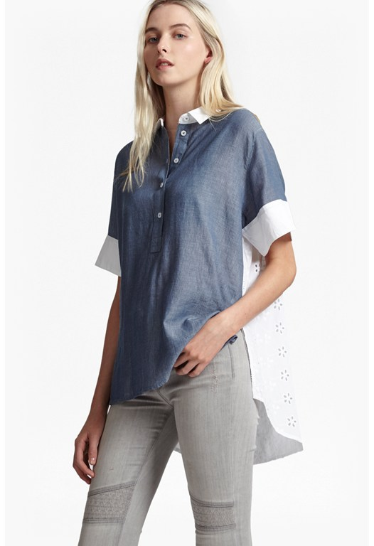 Kyra Cotton Oversized Shirt
