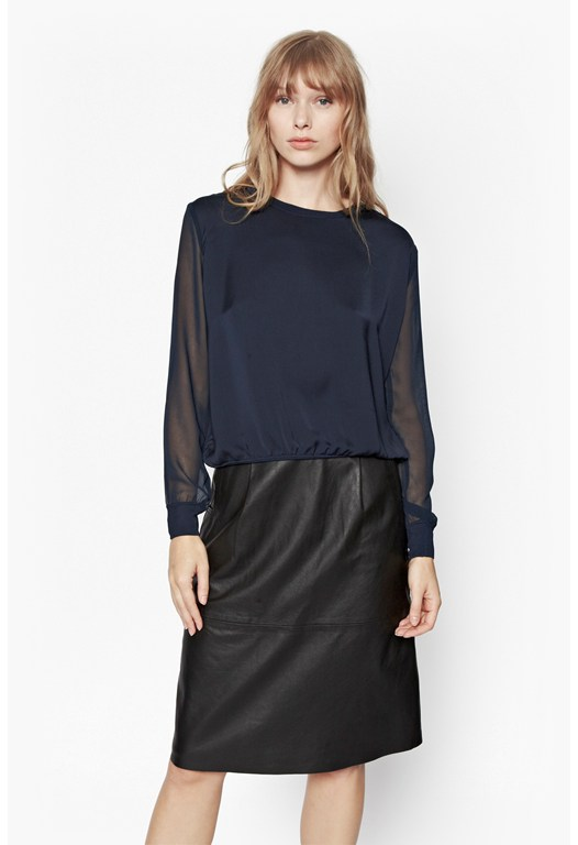 Lou Lou Satin Sweater