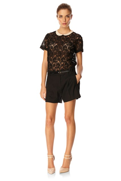Vaity Lace Block Top
