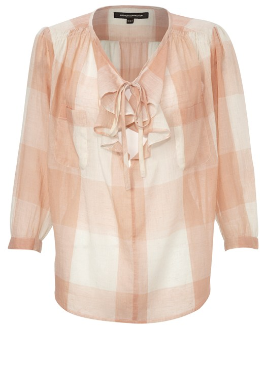 Peachy Keen Shirt White