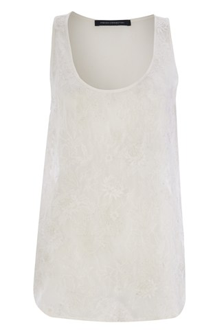 Cynthia Embroidered Vest Top