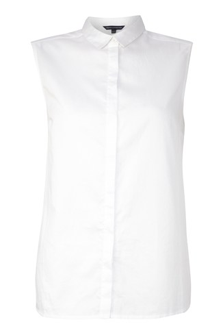 Wow Cotton Sleeveless Shirt