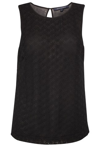Lisabetta Lace Sleeveless Top