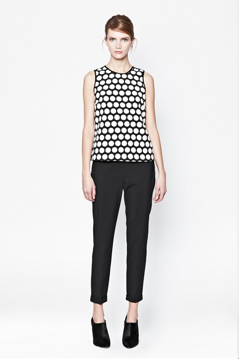 Poppy Dotty Top