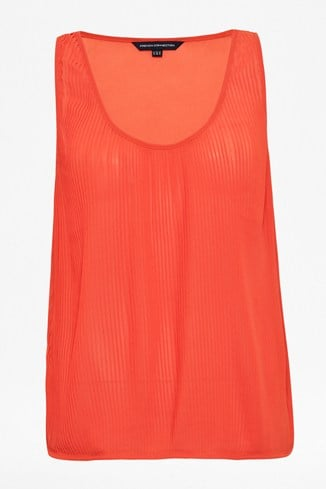 Autumn Spells Pleated Vest Top