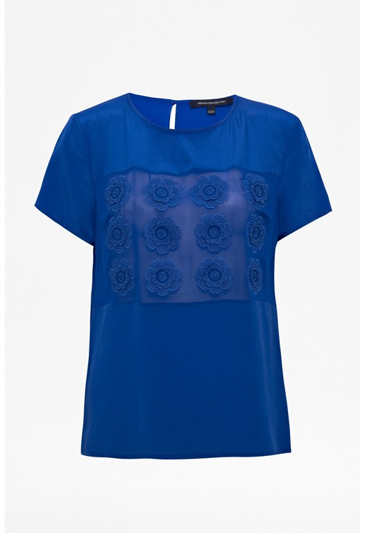 Poppy Preslie Silk Top