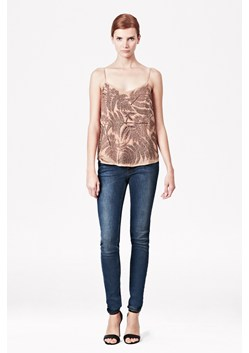 Forest Fern Strappy Embellished Top
