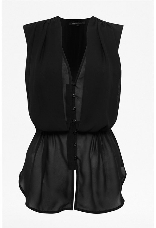Thunder Pleated Top