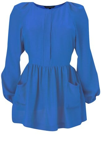 Alexa Silk Smock Top