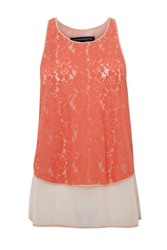 Poppy Lace Vest Top