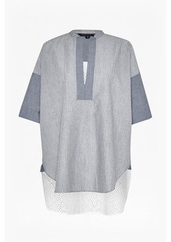 Ellie Contrast Cotton Shirt