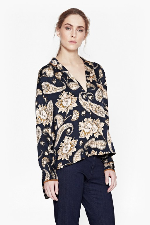 Complete the Look Sundown Silk Shirt