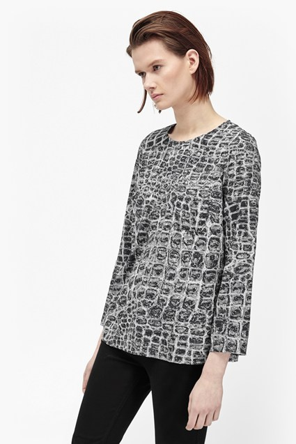 Ali Gator 3/4 Sleeve Top