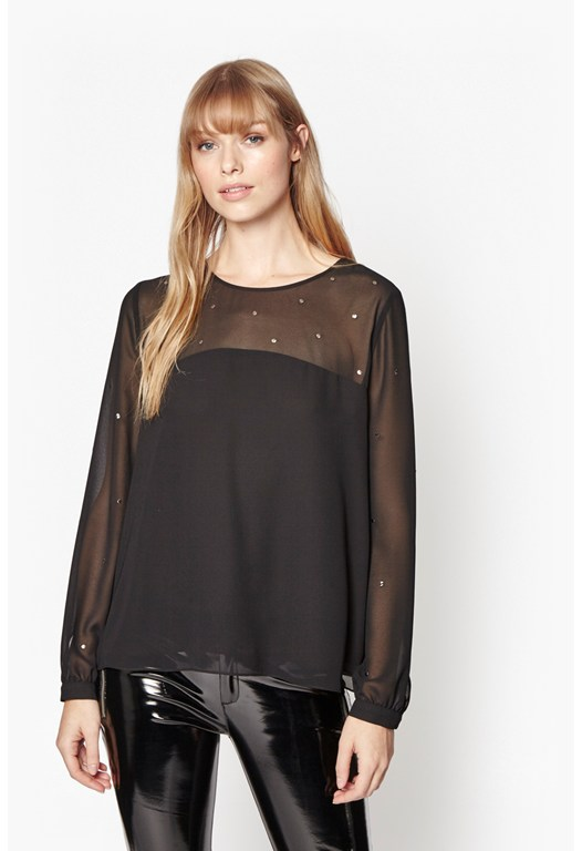 Arctic Spell Blouse