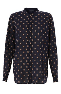 Berry Voile Shirt