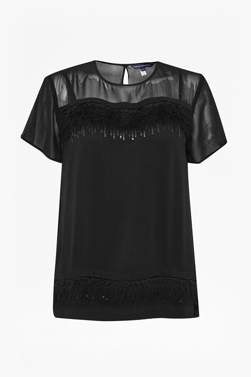 florrie feather top
