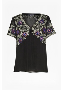 Mara Bloom Floral Embroidered Top