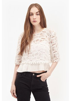 Freddy Cropped Lace Top