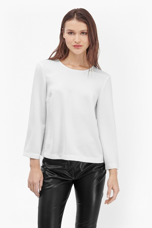 arrow crepe top