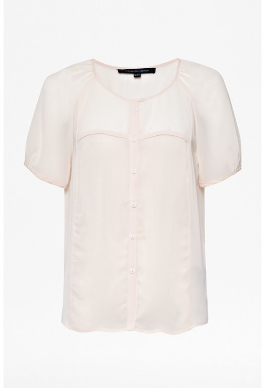 Classic Whisper Collarless Shirt