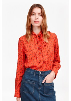 Mara Dot Tie Neck Shirt