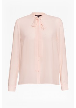 Pippa Plains Tie Neck Shirt