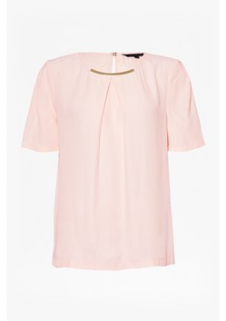 Hannah Crepe Round Neck Top