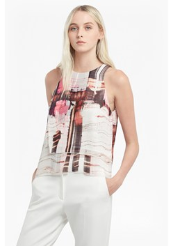 Cornell Sheer Printed Top