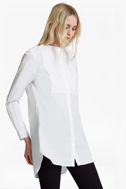 Smithson Cotton Bib Front Shirt