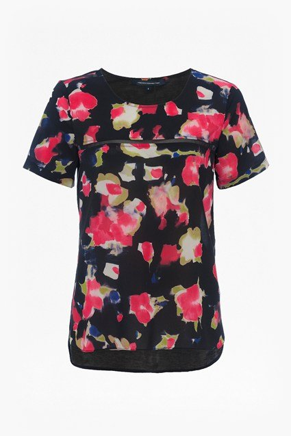 Bella Crepe Light Floral Top