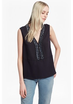 Karlo Drape Embellished Top