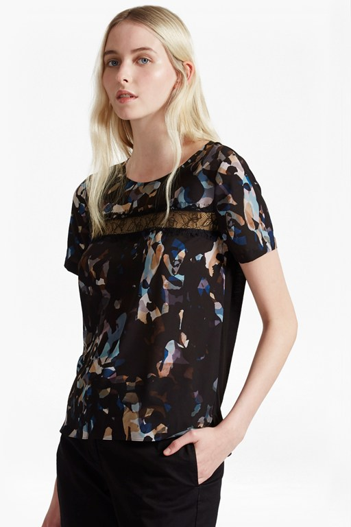 cornucopia polly lace top
