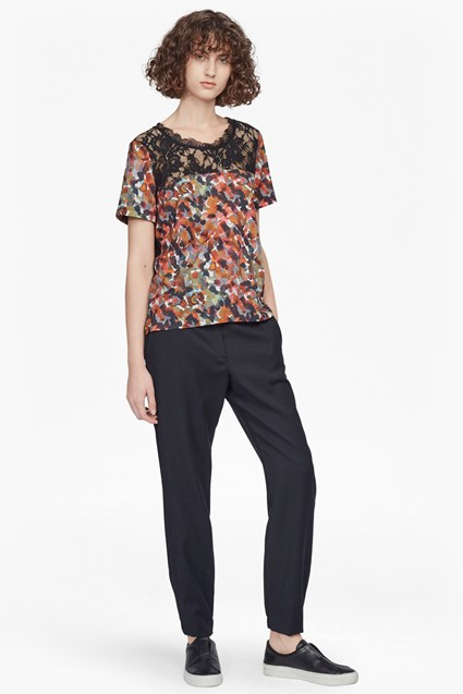 Eleanor Lightweight Crepe Printed Top