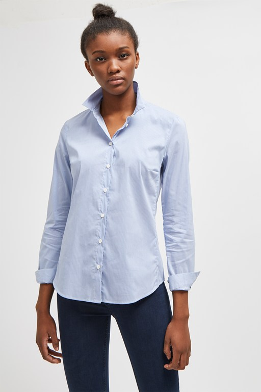eastside cotton stripe shirt