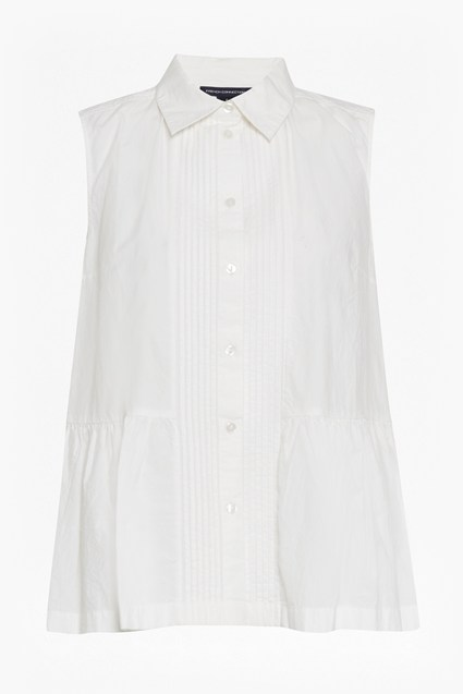 Neema Cotton Pintuck Detailed Shirt