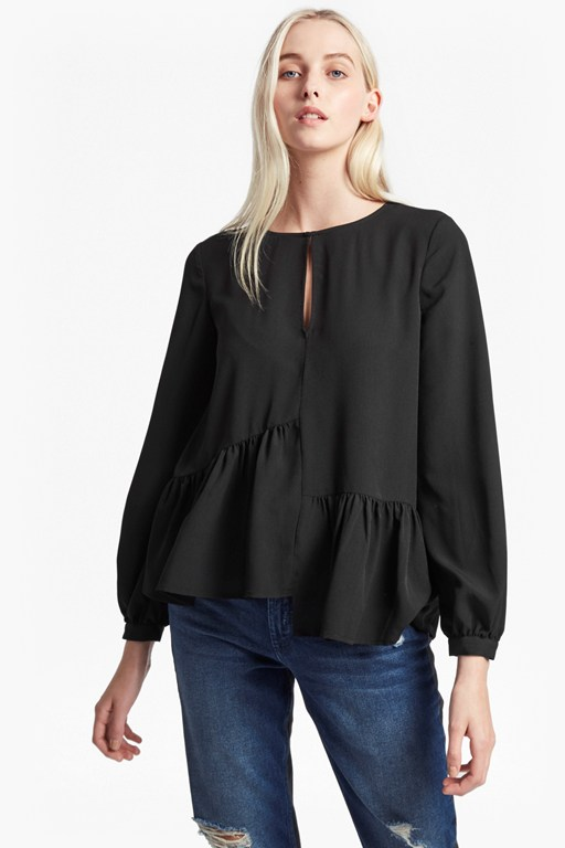 Complete the Look Lisette Lightweight Crepe Top