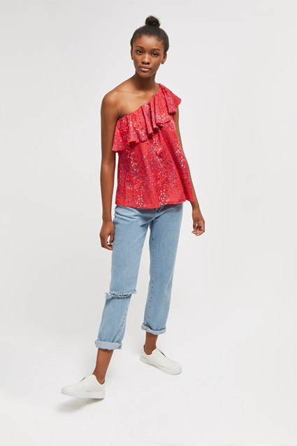 Frances Drape Crepe Light Top