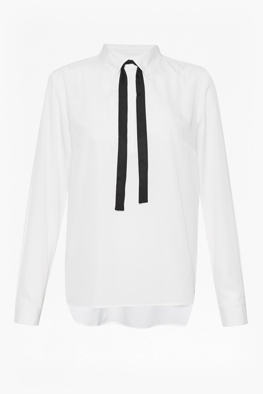 sammy polly tie neck blouse