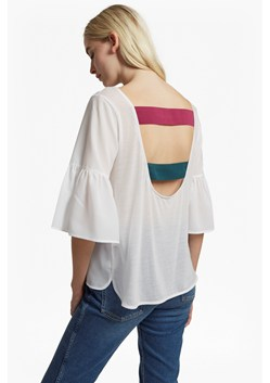 Classic Crepe Bell Sleeve Strap Back Top