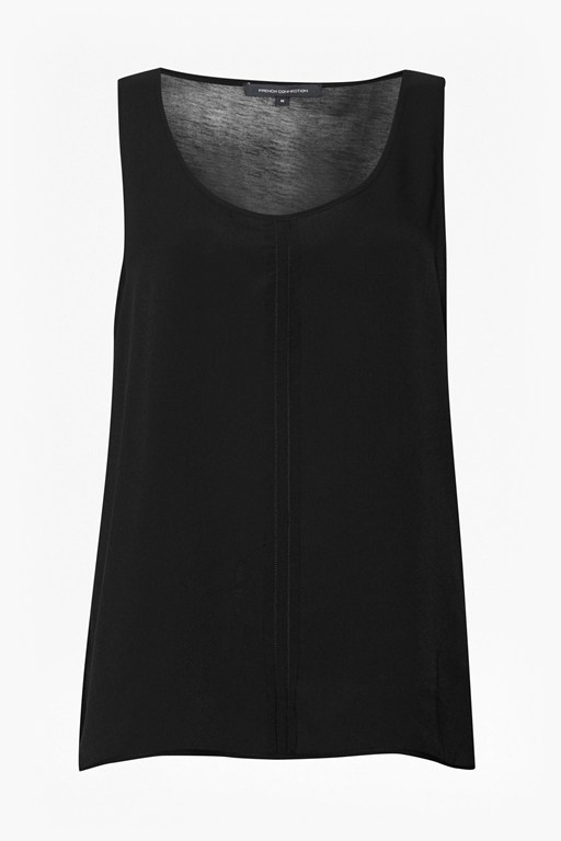 Complete the Look Clee Crepe Light Vest Top