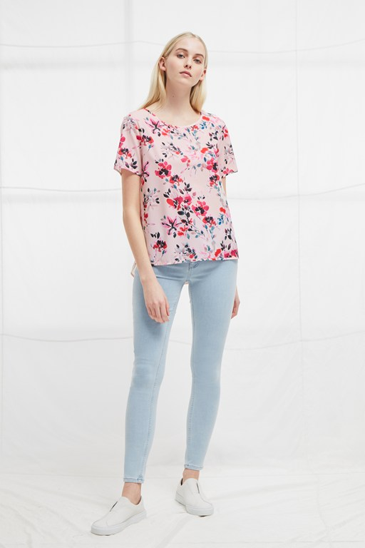 linosa crepe light t-shirt