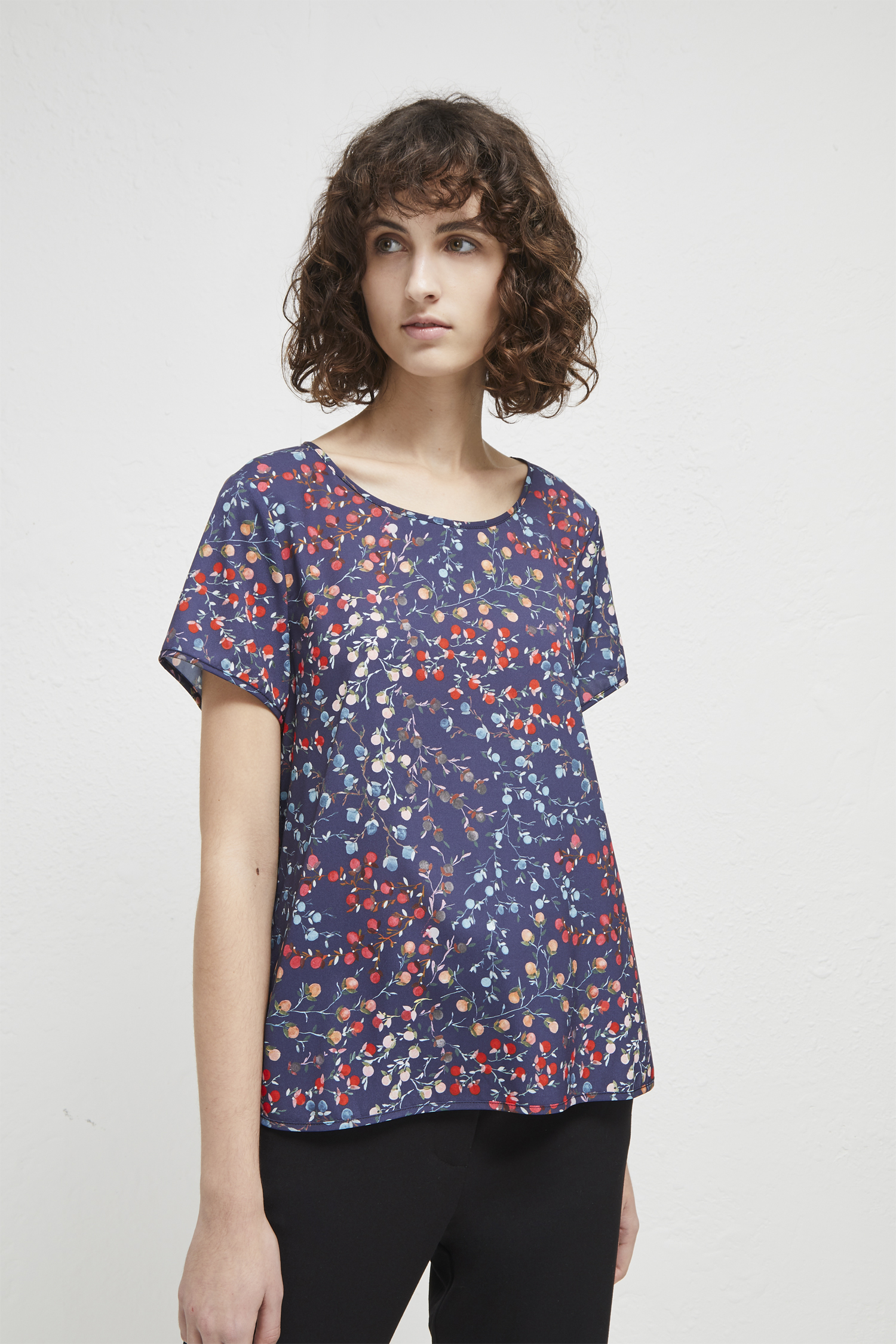 Cheap Sale Best Prices French Connection Frances Crepe T-Shirt With Paypal For Sale Get To Buy For Sale q63p1