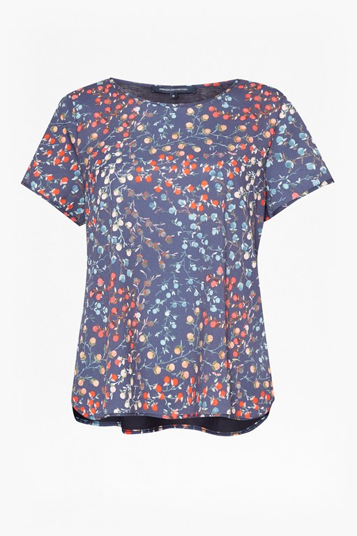 frances crepe t-shirt