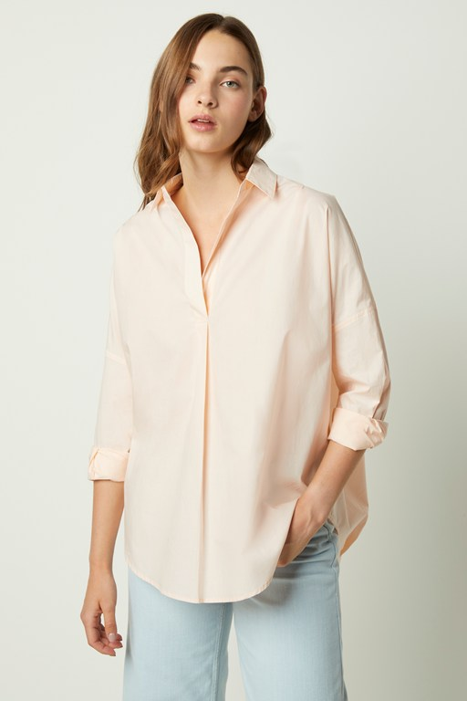 rhodes poplin relaxed fit shirt