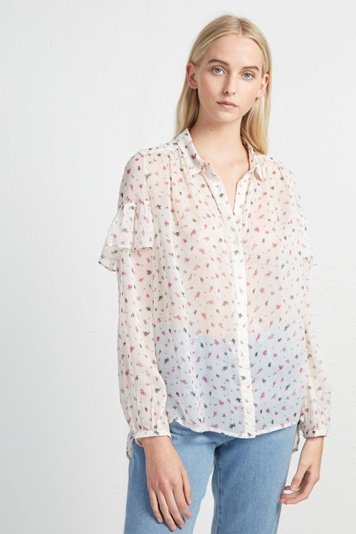 florence crinkle blouse