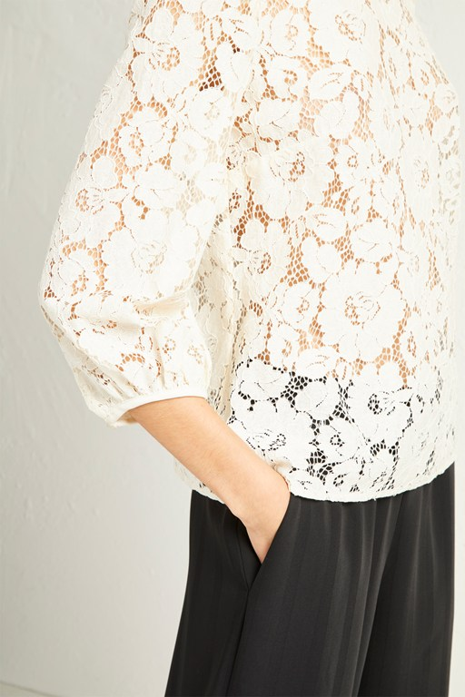 Complete the Look Emma Lace Top