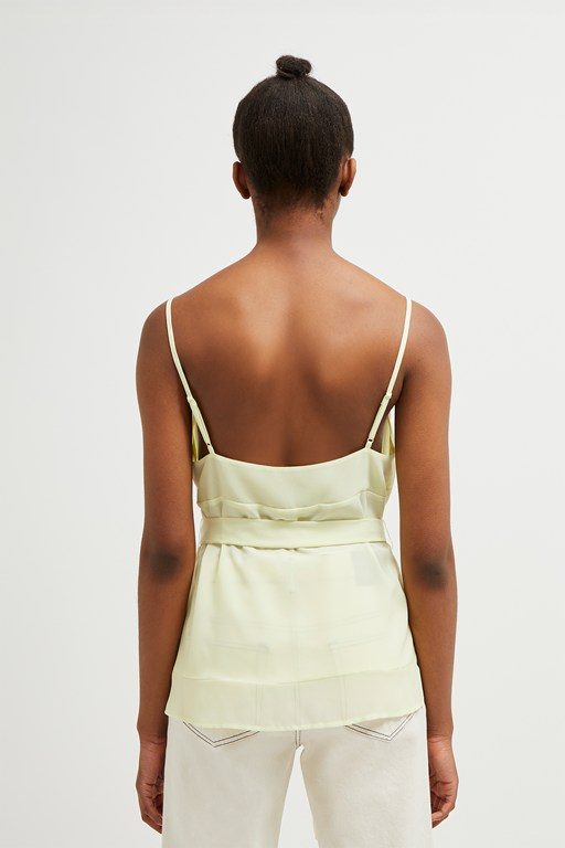 Complete the Look Crepe Light Belted Camisole