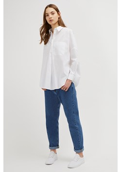 Laselle Poplin Pop Over Shirt