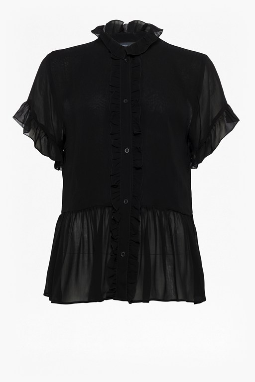 Complete the Look Clandre Light Ruffle Blouse